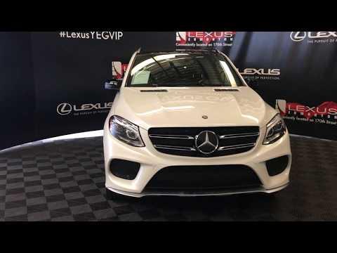 White 2016 Mercedes-Benz GLE GLE 450 AMG Review Edmonton Alberta - Lexus of Edmonton