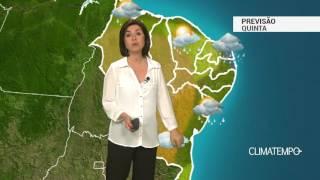 Previsão Nordeste – Agreste e Sertão terão chuva