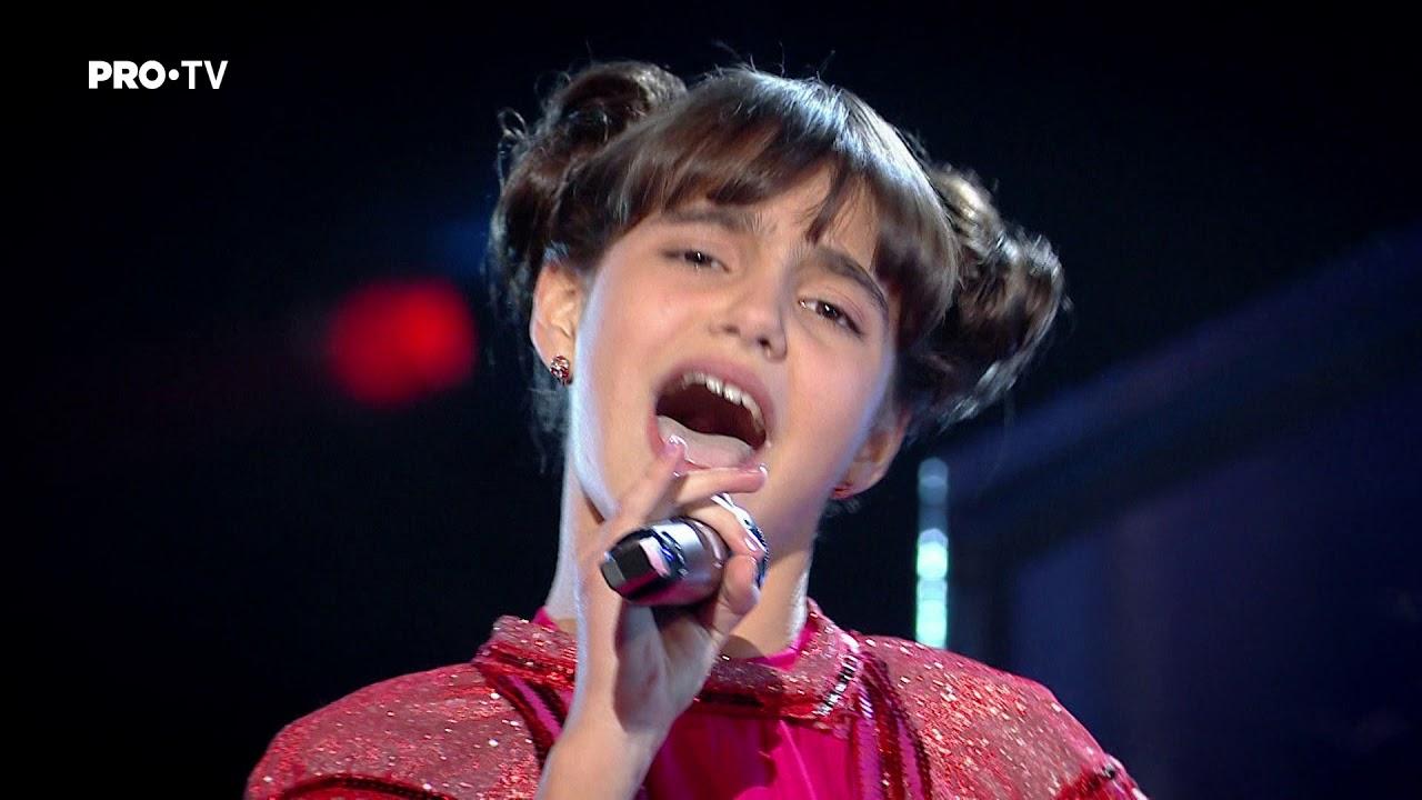Maria Popa & Alina Eremia - Nobody's perfect | Finala | Vocea Romaniei Junior 2018