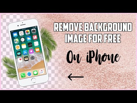 How To Make PNG Image Free Background Eraser App On IPhone