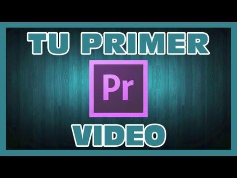 Edita Tu primer video, premiere pro, premiere pro primeros pasos, edtar con premiere pro
