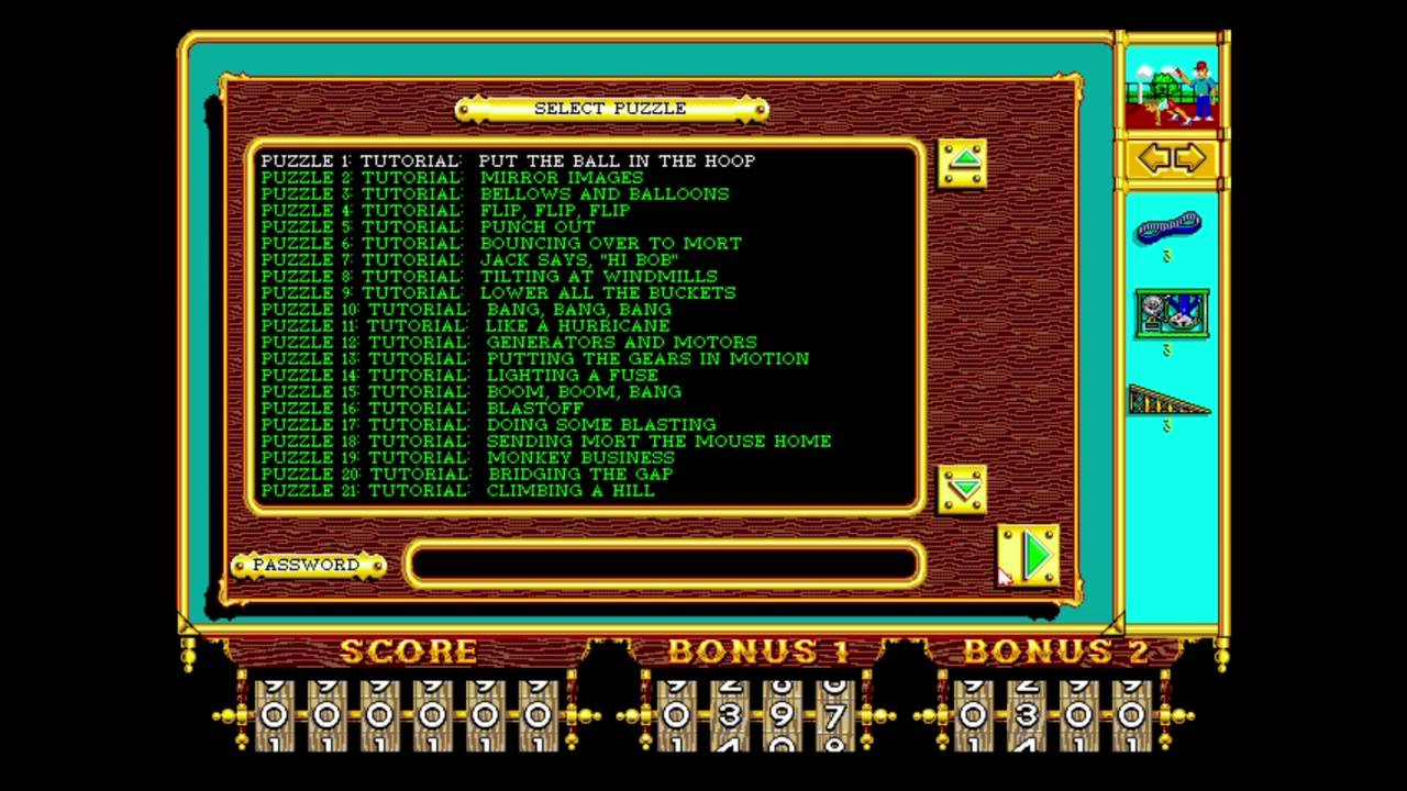 how to play the incredible machine game on pc