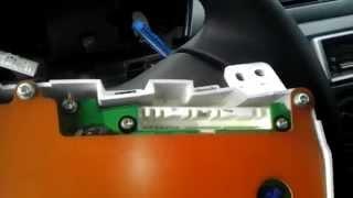 Снятие панели приборов и блока рег.зеркал, клавиш  ПТ фар Lancer 9