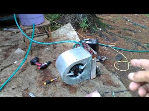 easy DIY geothermal cooling system.
