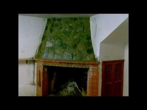 Stone fireplace chimenea de piedra y ladrillo diy youtube - Chimeneas rusticas de ladrillo ...