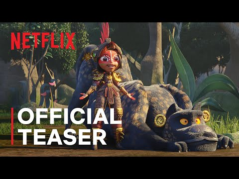 Maya and the Three | Official Teaser | Netflix