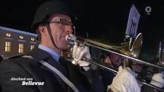 Serenade beim Zapfenstreich für Gauck am 17.03.2017 zur Verabschiedung als Bundespräsident
