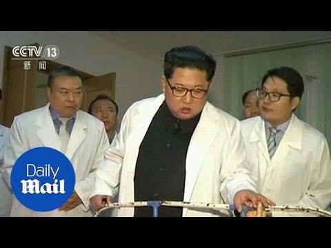 Kim Jong Un visits survivors of bus crash in Pyongyang hospital - Daily Mail