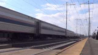 MUST SEE!!!!!!! Railfanning Amtrak