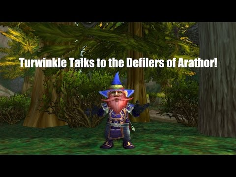 Turwinkle Talks to the Defilers of Arathor!