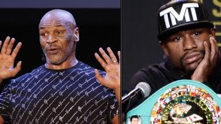 """Mike Tyson: """"Mayweather is not the Goat I enjoy watching Pacquiao more"""""""