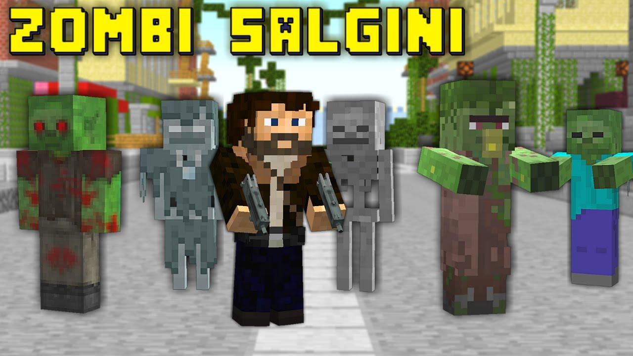 Minecraft Filmi ZOMBI ISTILASI ~1 :Sonun Başlagıcı: