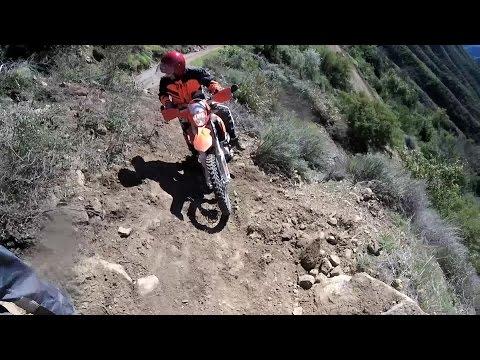 Dual Sport Ride Above Santa Barbara