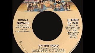 Donna Summer ~ On The Radio 1980 Disco Purrfection Megamix