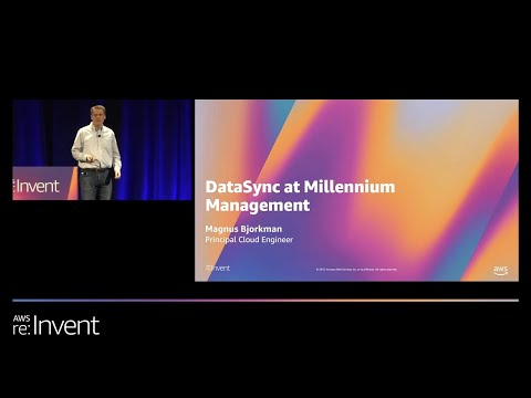 Rapid Online Data Transfer with AWS DataSync (STG342) - Millenium Management