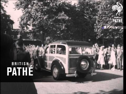 London Welcome For Royal Baby (1950)