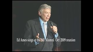 """Ed Ames sings """"Old Man River"""" at the New York Alumni  Oct. 2009 Reunion"""