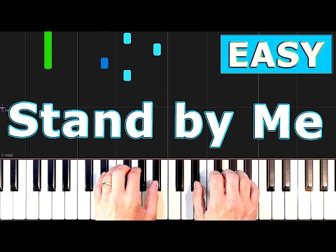 Stand by Me - Piano Tutorial Easy - [Sheet Music]