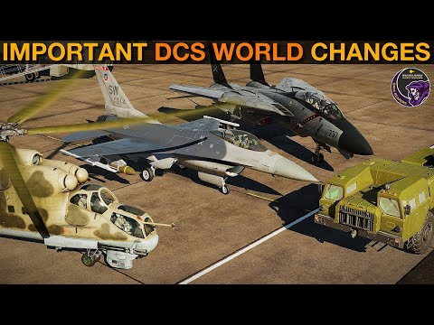 IMPORTANT Changes: Hind, Cyprus, F-16C, F-14A/B, AV-8B, M-2000C, Supercarrier & ME   DCS WORLD