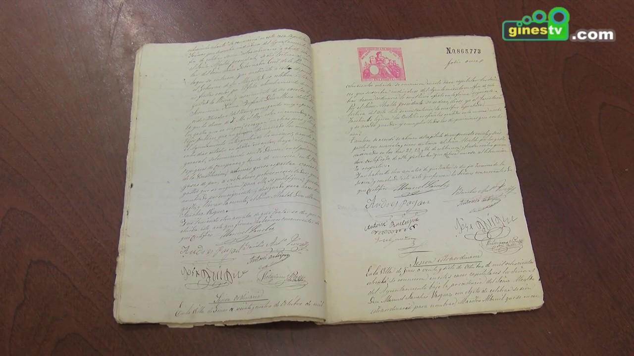Un libro recogerá la historia de Gines desde finales del siglo XIX