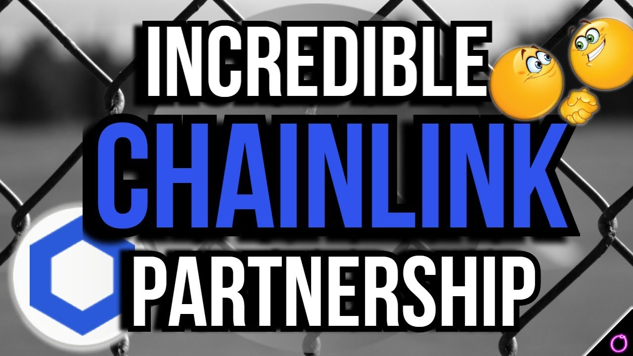INCREDIBLE Chainlink partnership that supports future gains