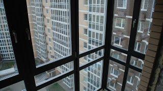 видео Утепление лоджии с панорамным остеклением, витражного окна балкона