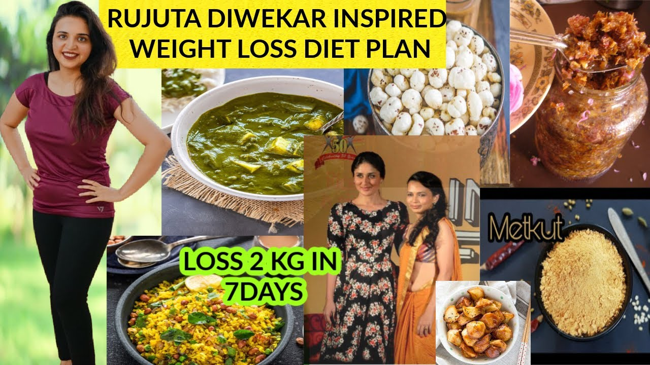 <div>MY REAL WEIGHT LOSS TRANSFORMATION FOLLOWING RUJUTA DIWEKAR'S DIET PLAN AND YOGA~LOSE 2 KG IN 7 DAYS</div>