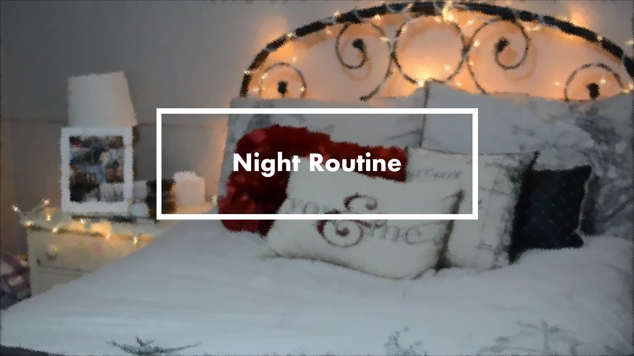 Night Routine for School | Syd - YouTube