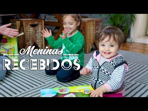 RECEBIDOS NINA E MANUH   Chicco - Ep. 719