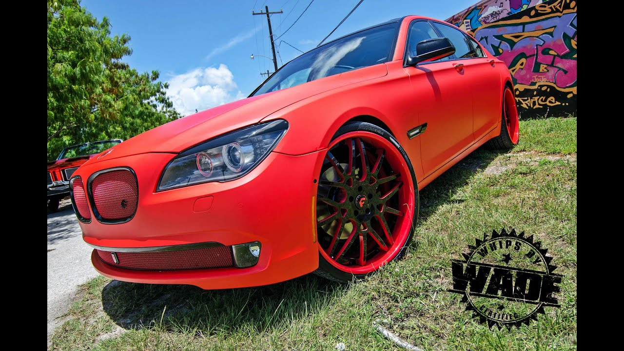 Tate Design Matte Red 7 Series WhipsbyWade