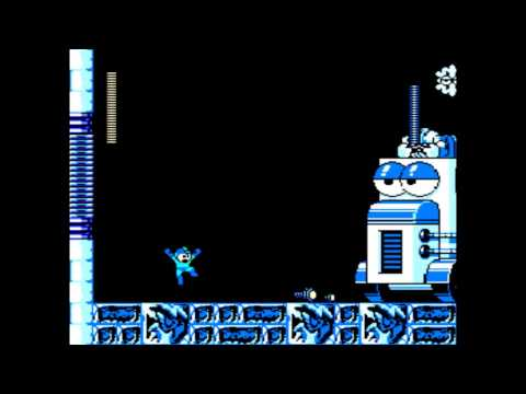 Mega Man Rock Force - The Hall of Justice Stage 2