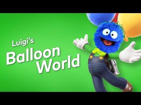 Okay this is TOO MUCH FUN │ Luigi's Balloon World
