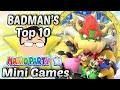 Top 10 Mario Party 10 Mini Games - Badman