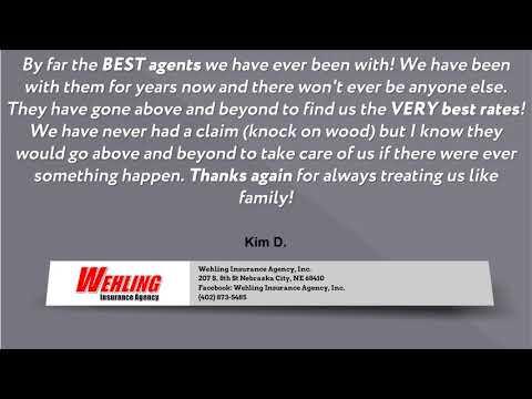 Wehling Insurance Agency, Inc | Insurance Agent Reviews | Reviews | Nebraska City, NE