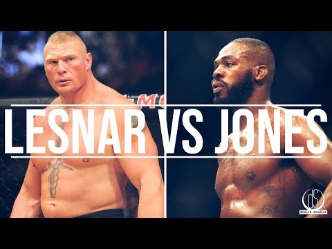 "Brock Lesnar vs Jon Jones Promo Trailer | SUPERFIGHT TIME | ""Raw Power"""