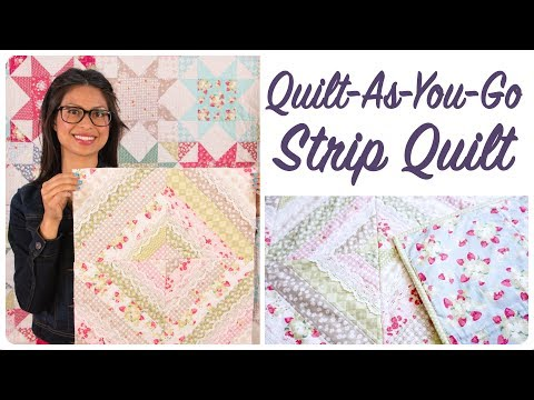 Quilt-As-You-Go Made Modern Book - Strip Quilt
