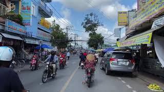 Vòng quanh dự án Chợ & Nhà phố thị xã Bình Minh - tỉnh Vĩnh Long