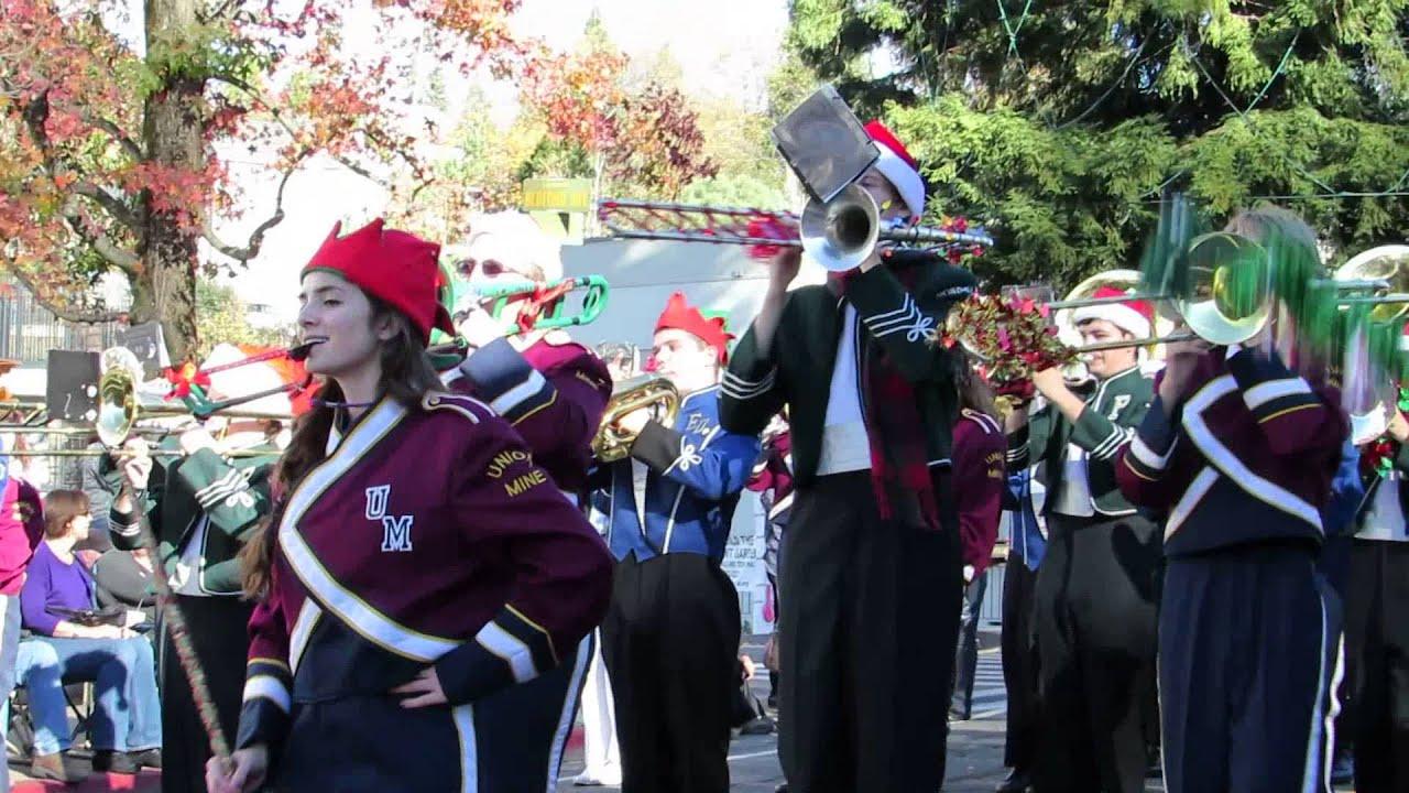 Placerville Christmas Parade 2013 All El Dorado County High School ...