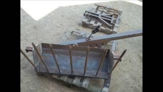 Budowa ładowacza na tył ciągnika