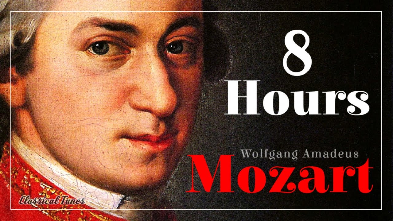 8 Hours Mozart Exciting Creative Whimsical Brain Power Music Youtube