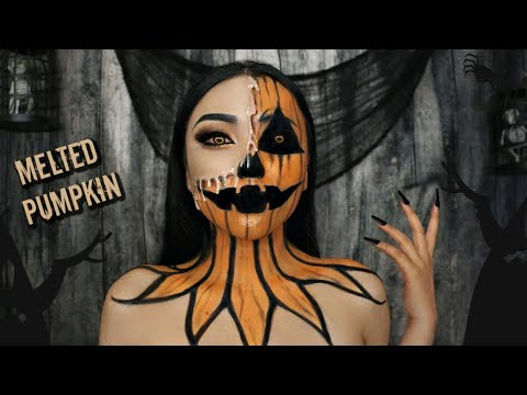 MELTED 'Pumpkin' Makeup (Halloween Contest 2019 Announcement) thumbnail