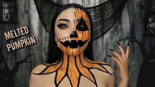 MELTED 'Pumpkin' Makeup (Halloween Contest 2019 Announcement)