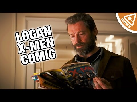 The Deeper Meaning Behind The Comics in the Logan Trailer (Nerdist News w/ Jessica Chobot)