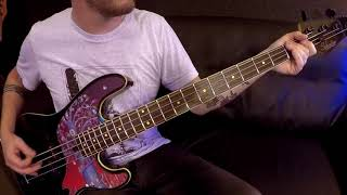 Dance Gavin Dance - Suspended In This Disaster Bass Playthrough