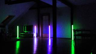 American DJ Colour LED Tube test