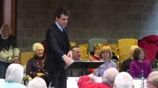 Ward Stare, RPO Music Director, conducts Eastman Rochester New Horizons Concert Band