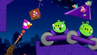 Angry Birds Cannon Collection 4 - RESCUE THE BIRDS TEAM AFTER FORCE OUT THE PIGGIES!