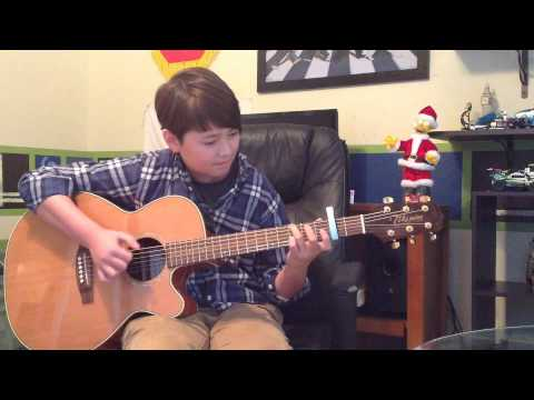 Mistletoe - Justin Bieber Acoustic Fingerstyle Guitar Cover - Andrew Foy Christmas song