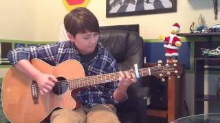 Mistletoe - Justin Bieber Acoustic Fingerstyle Guitar Cover - Andrew Foy Christmas song