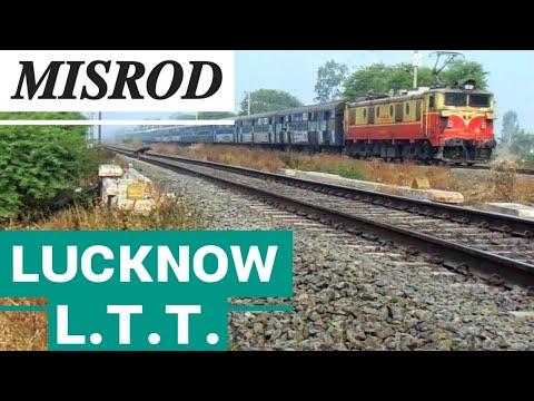 12108/ Lucknow - Mumbai (LTT) Tri weekly Express with Bhusaval WAM 4